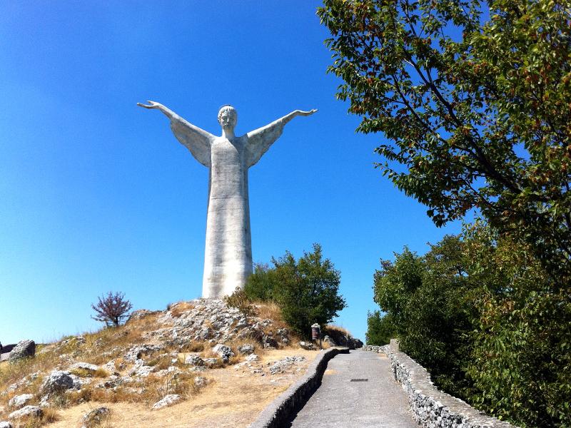 Saluti da Maratea: Il Cristo Redentore